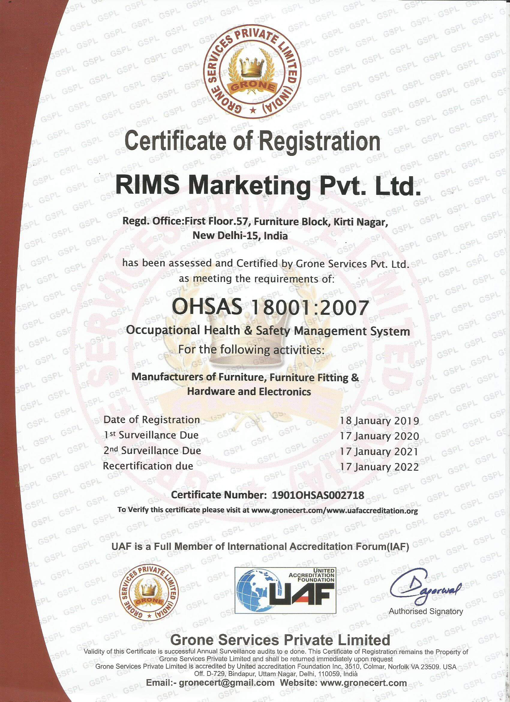 RIMS Marketing Pvt. Ltd